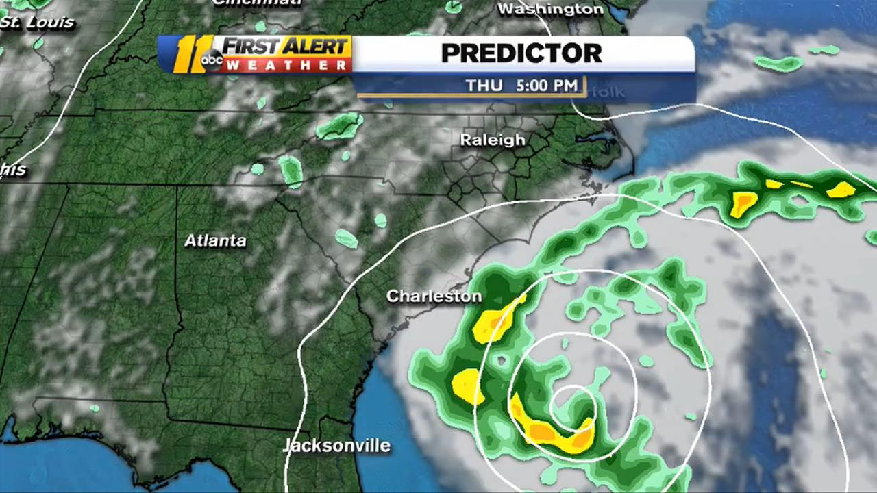 A subtropical storm could arrive off the North Carolina coast later this week
