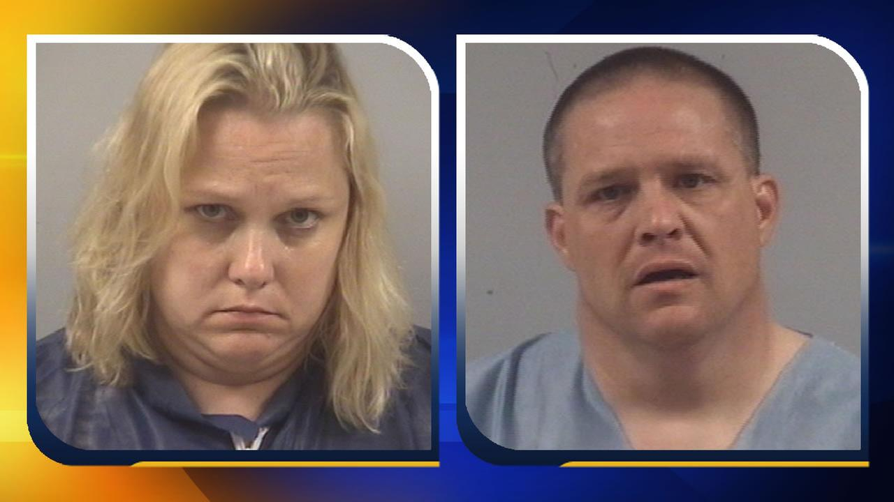Lori Riley Whitley and her husband Gary Nelson Whitley Jr. (images courtesy Johnston County Sheriffs Office)