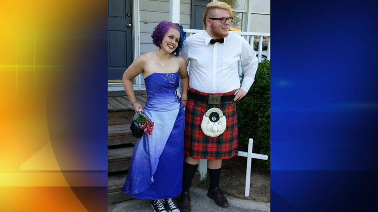 Kilt worn to prom controversy