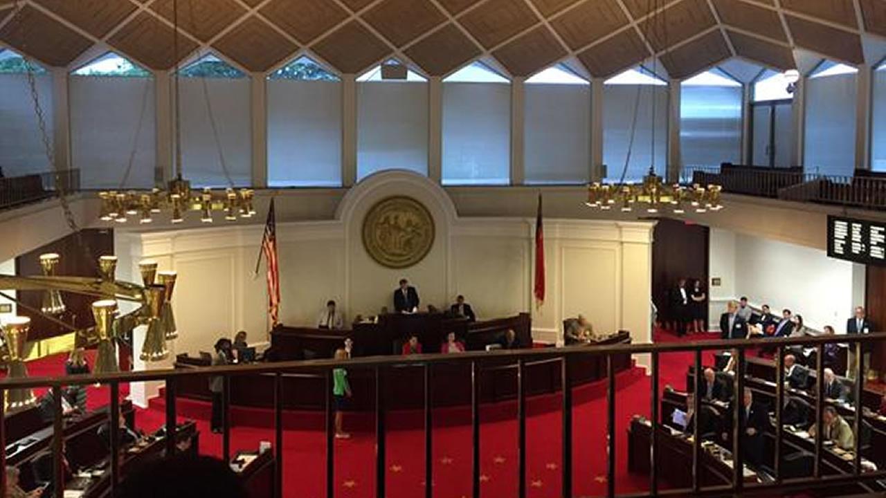 NC Senate floor