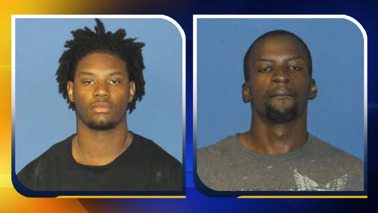 Naquan Lavert Bryant and Rashad Eugene Curlee (images courtesy Sampson County Sheriffs Office)