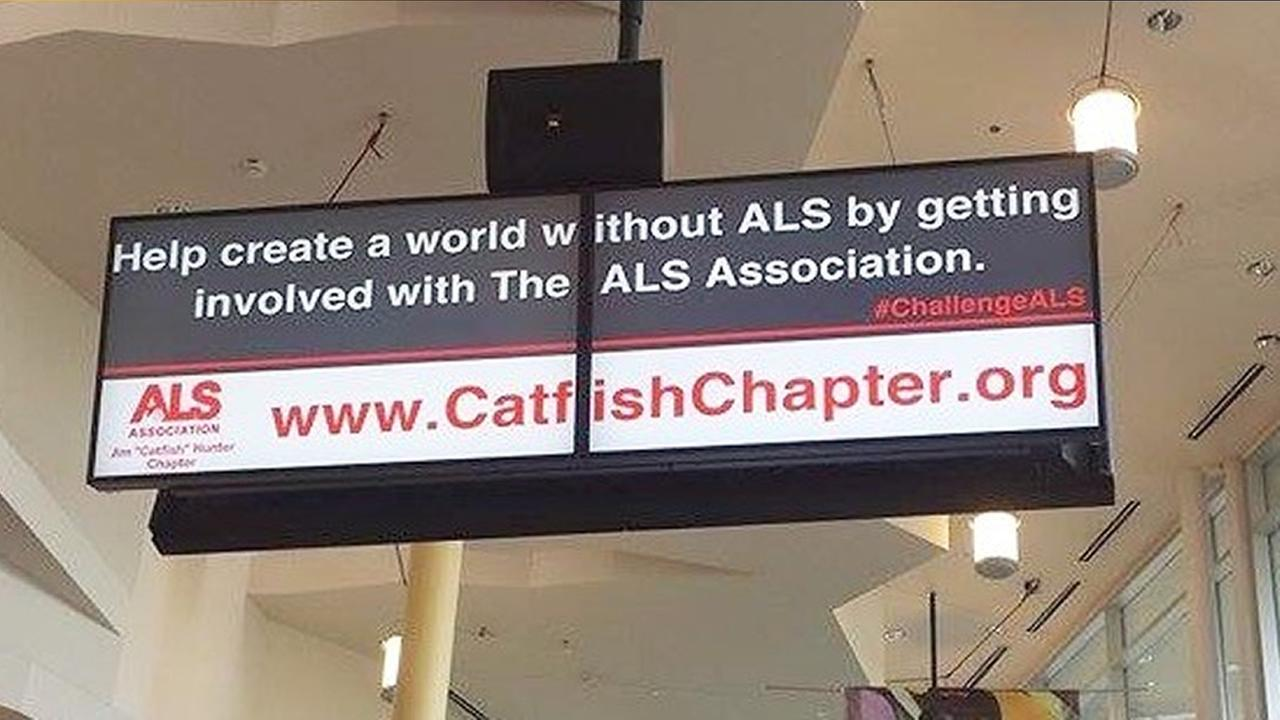 ALS billboards donation