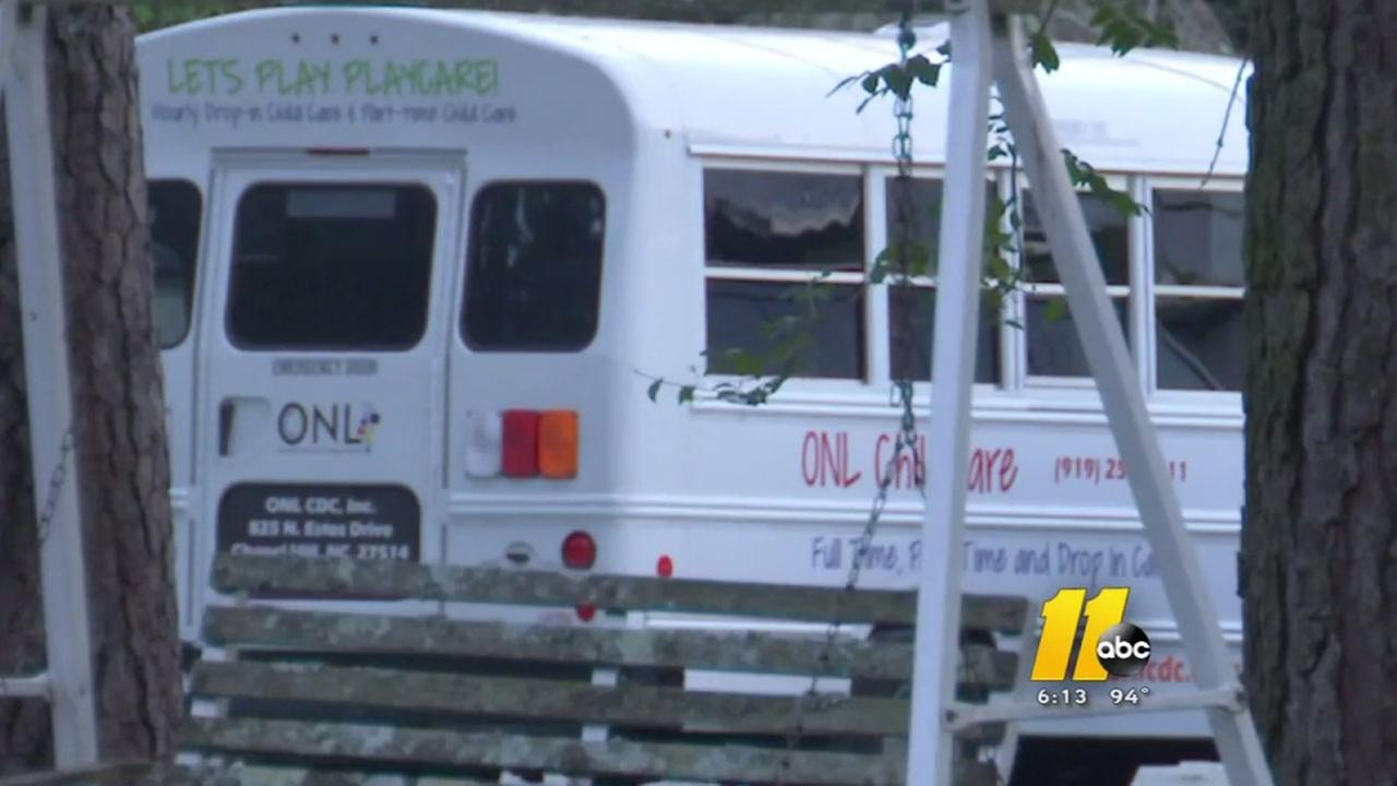 Operation New Life daycare bus in Chapel Hill