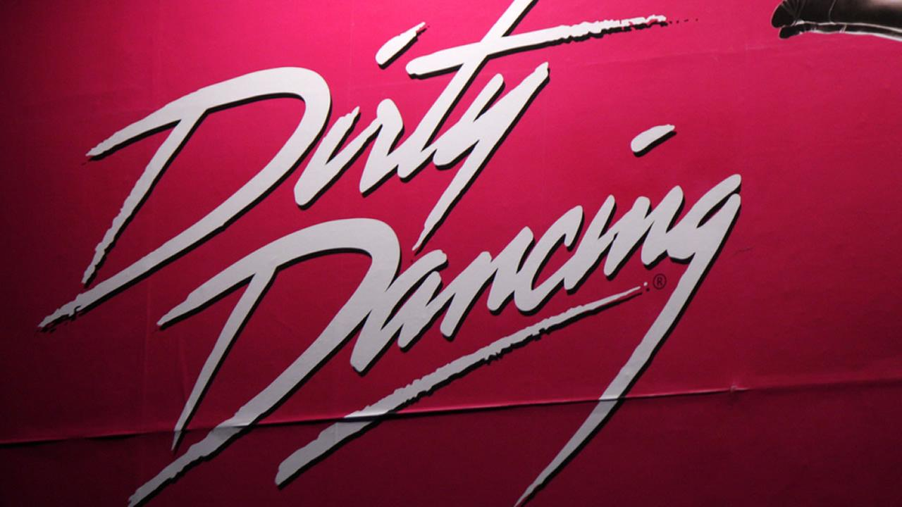 Logo for the film Dirty Dancing