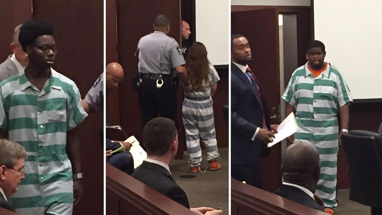 Suspects in a fatal Cary hit-and-run appear in court.