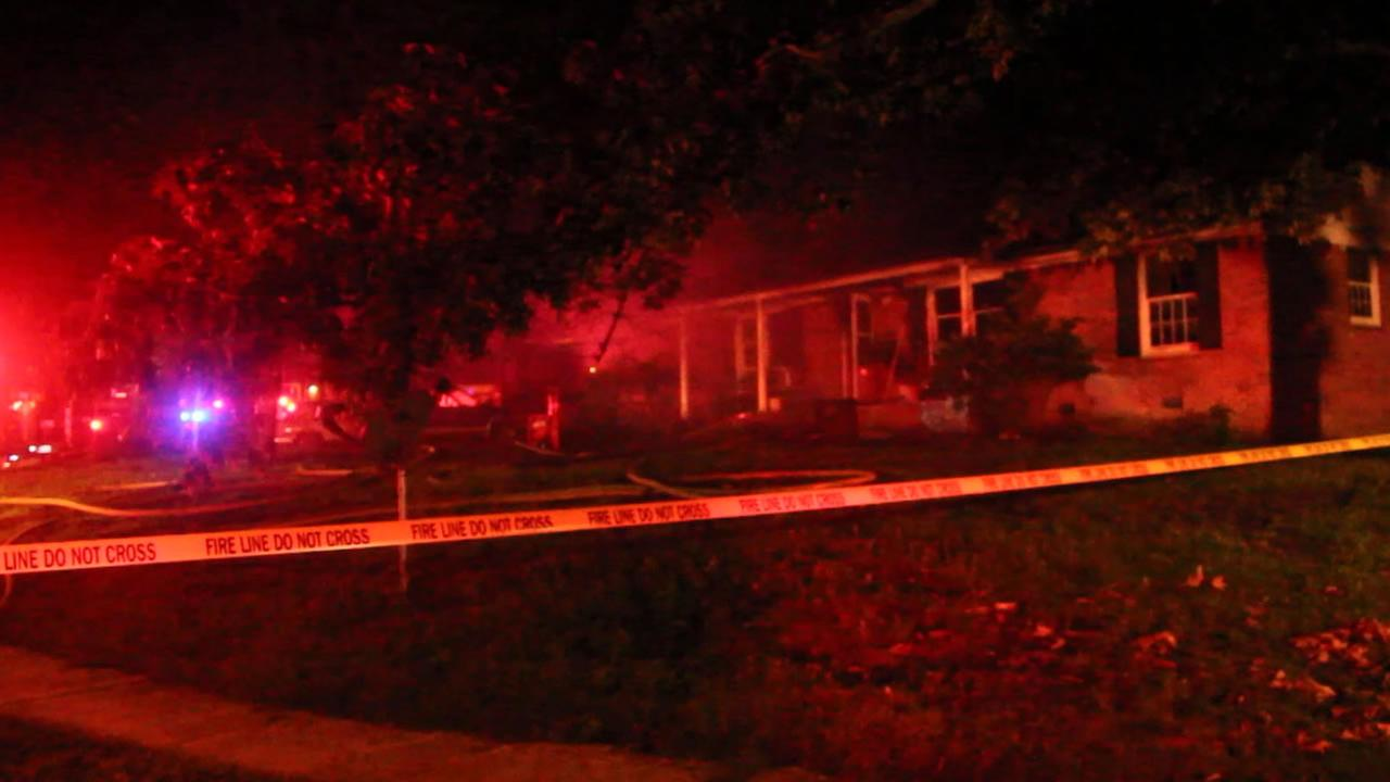 A man died late Tuesday in a Fayetteville house fire.