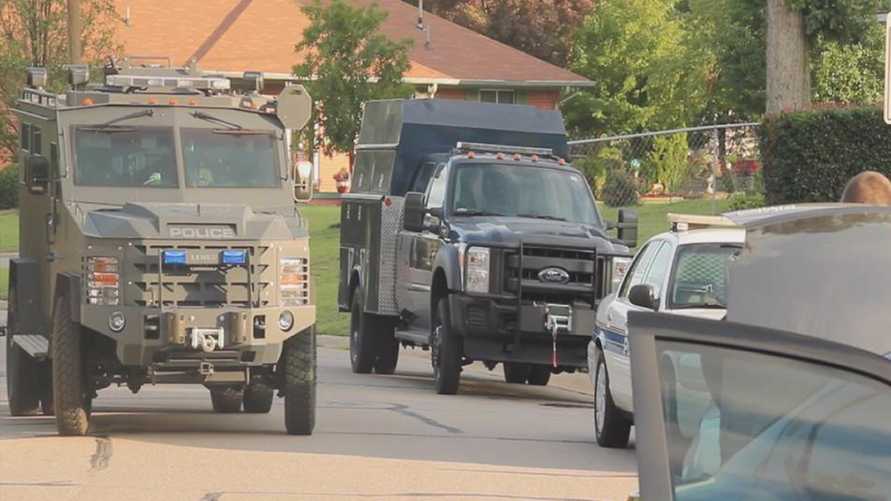 Fayetteville standoff on Gola Road