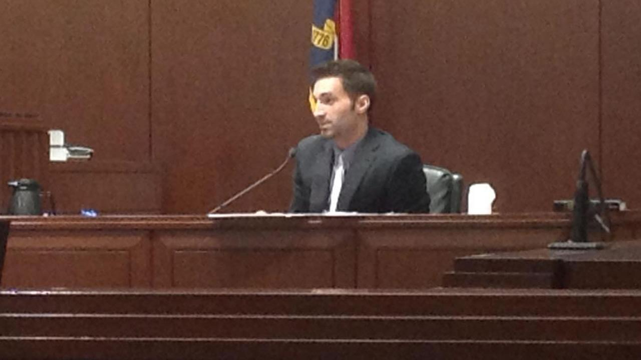 Joshua Weaver testifies.