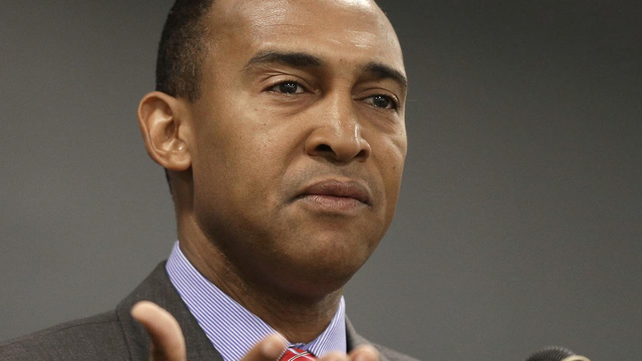 Former Charlotte Mayor Patrick Cannon (AP Photo/Chuck Burton)