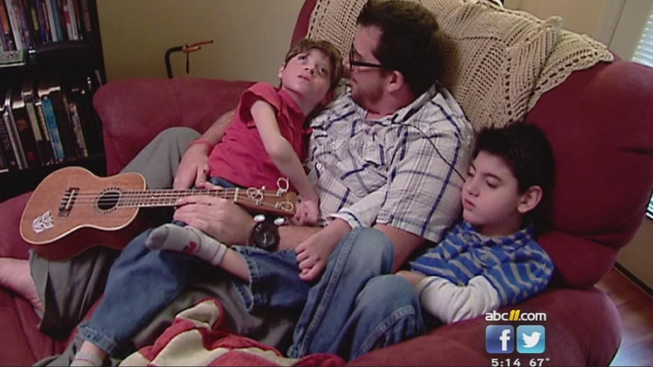 Brothers Jack and Luke were born with the same rare genetic mutation. (WTVD Photo)