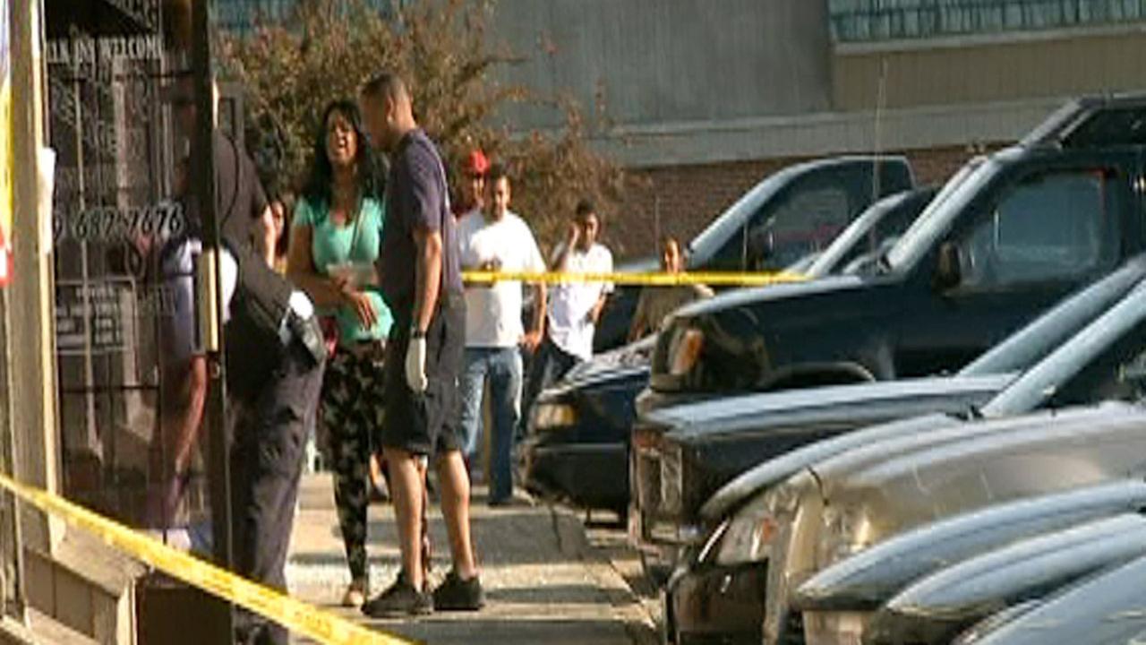 Durham shooting scene Avondale Drive