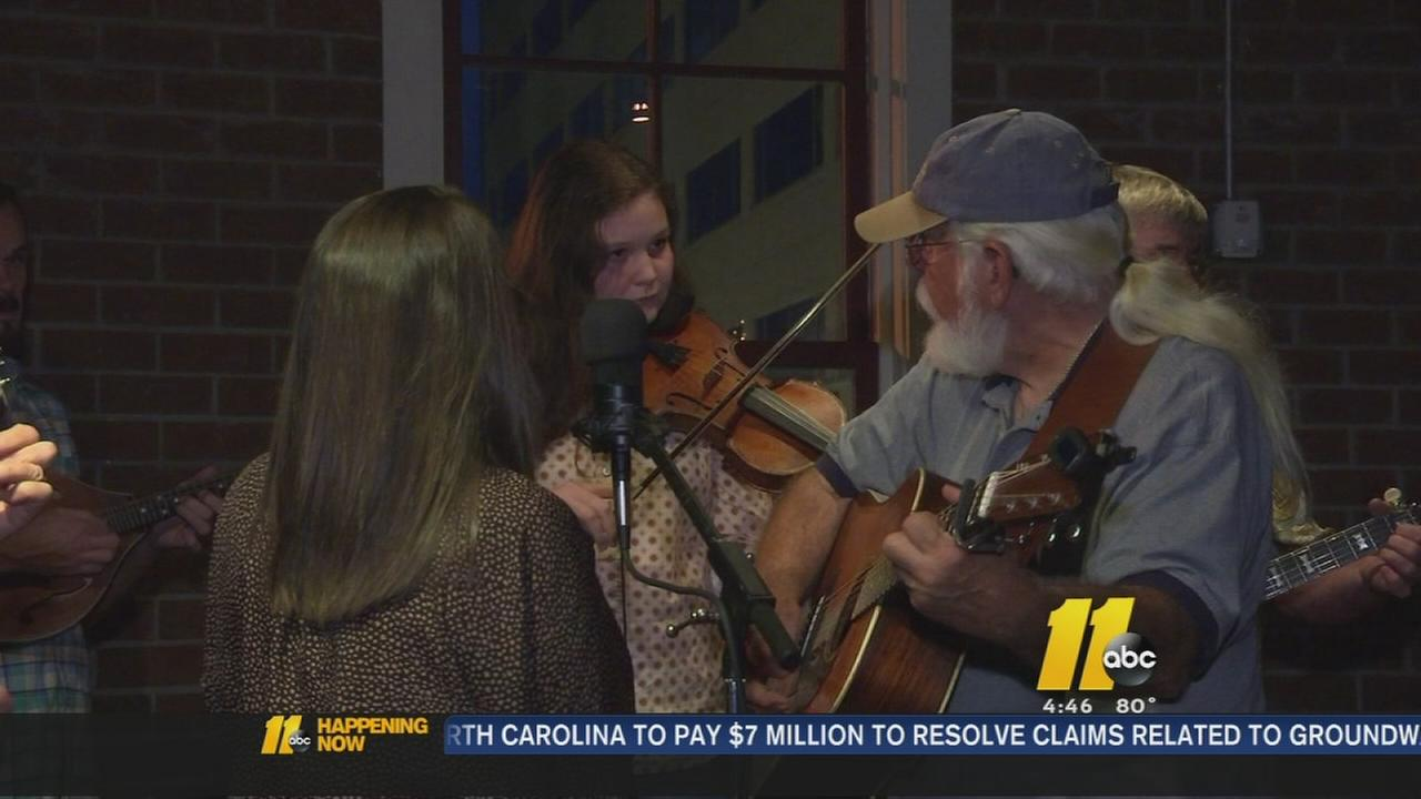 Younger generation embracing bluegrass