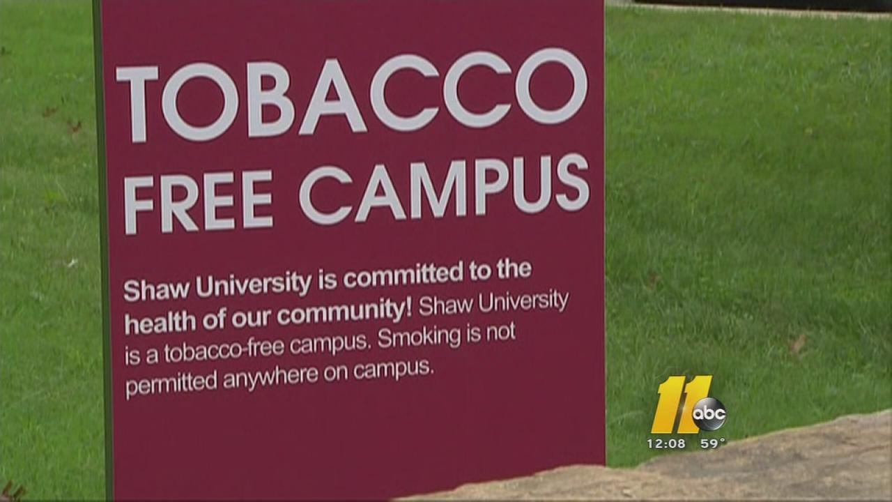 Putting the butts out at Shaw University