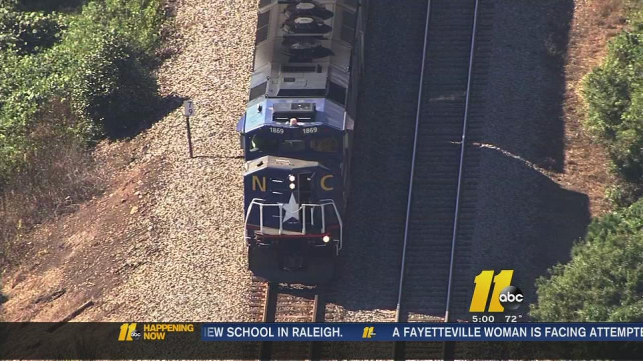 Man killed by train in Raleigh