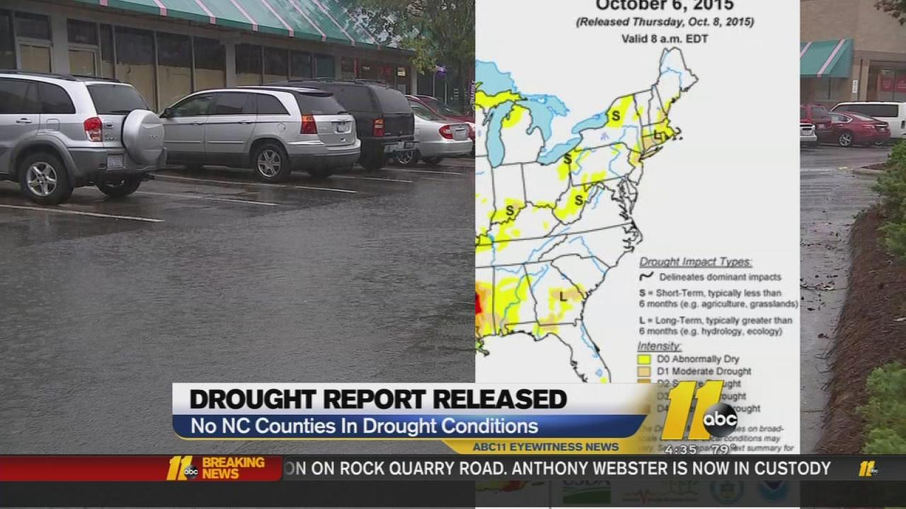 Drought report released