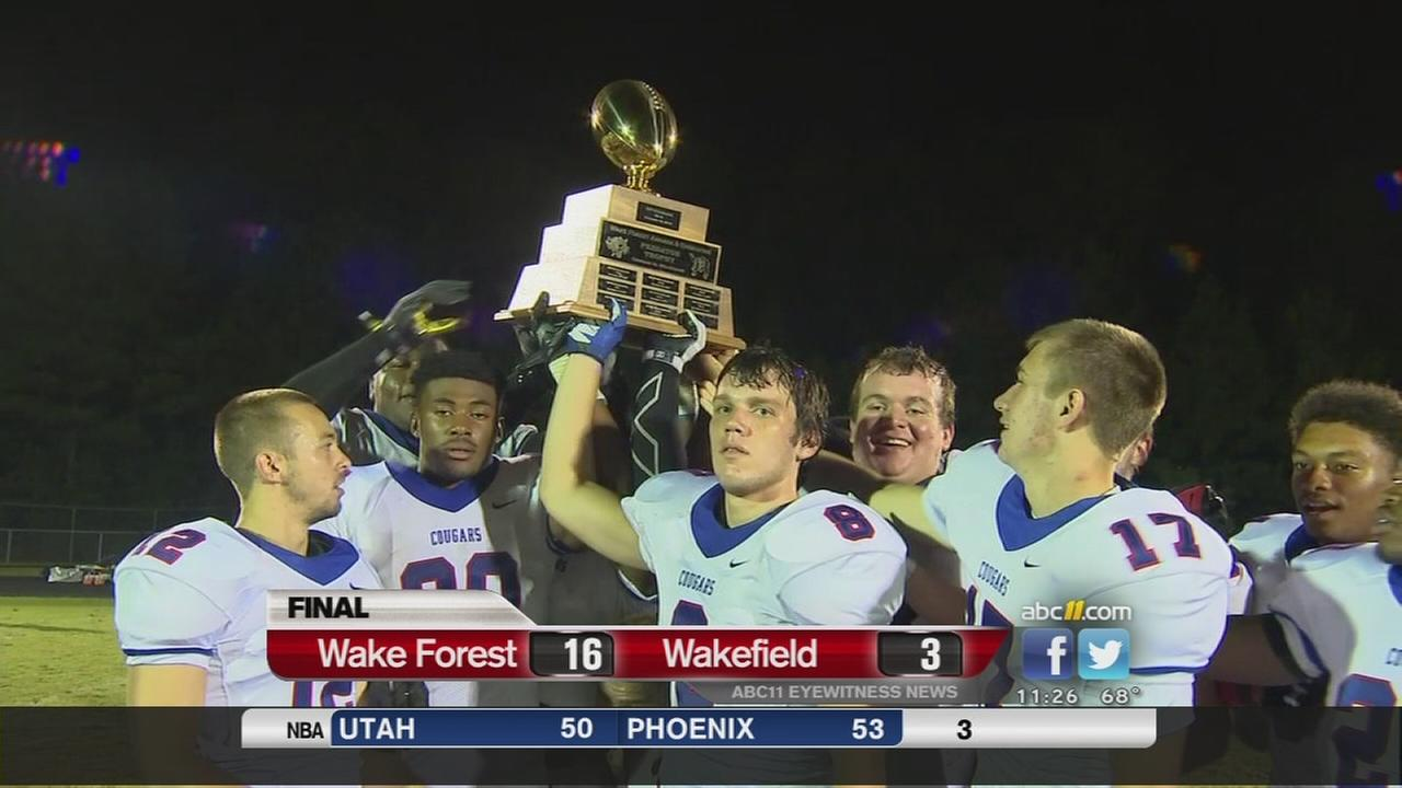 FNF- Wake Forest beats Wakefield