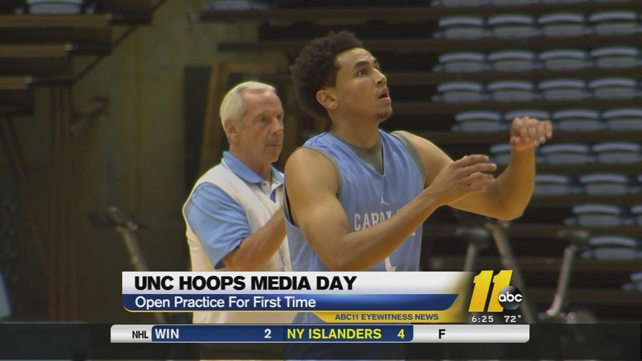 UNC Media Day