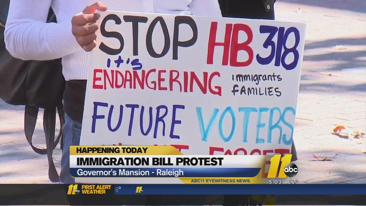Groups plans protest following immigration bill signing