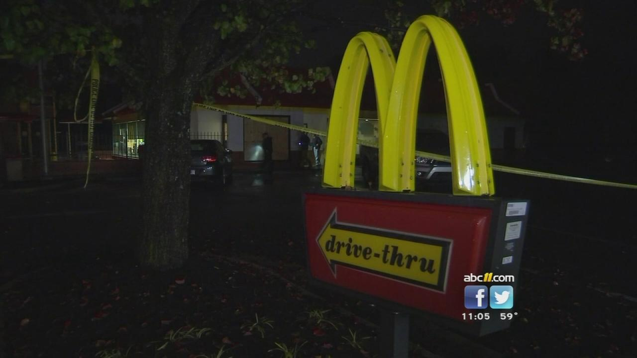 Person shot at fast food restaurant near Creedmoor