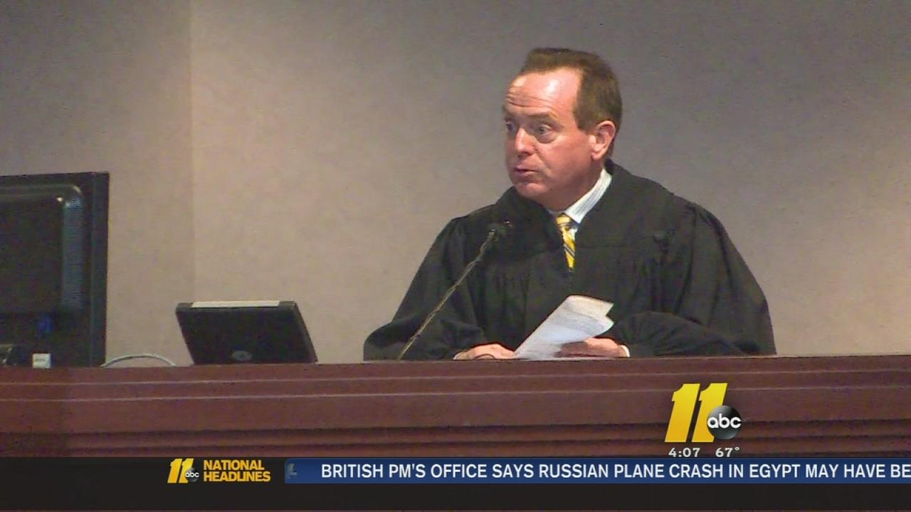 NC judge arrested on bribe charges