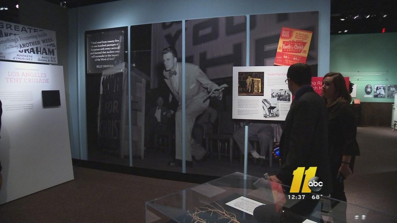 Billy Graham exhibit to open
