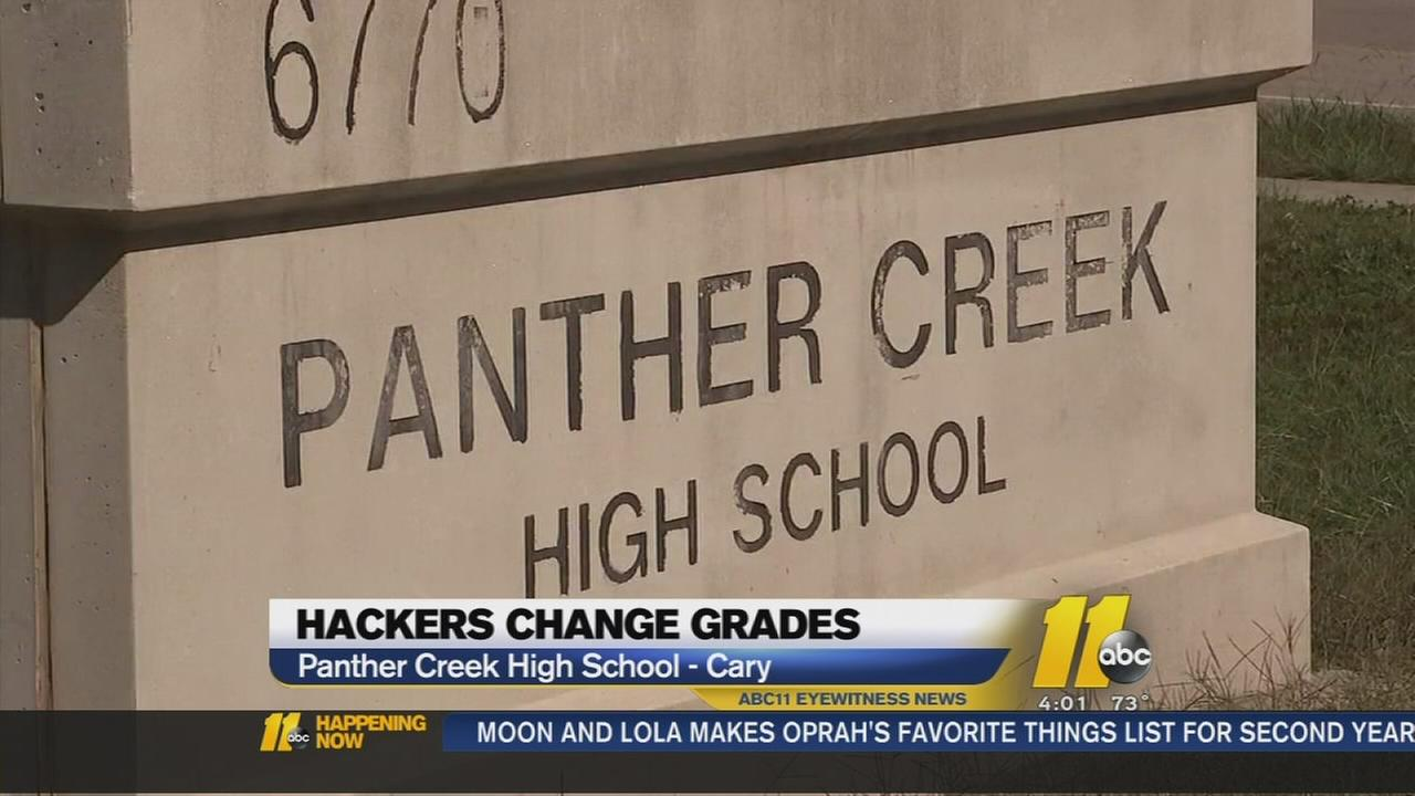 Hackers change grades at local HS