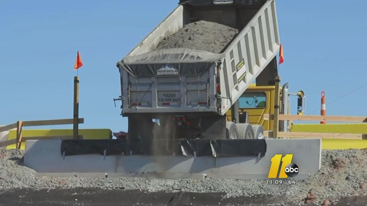 Moncure residents not happy as coal ash arrives