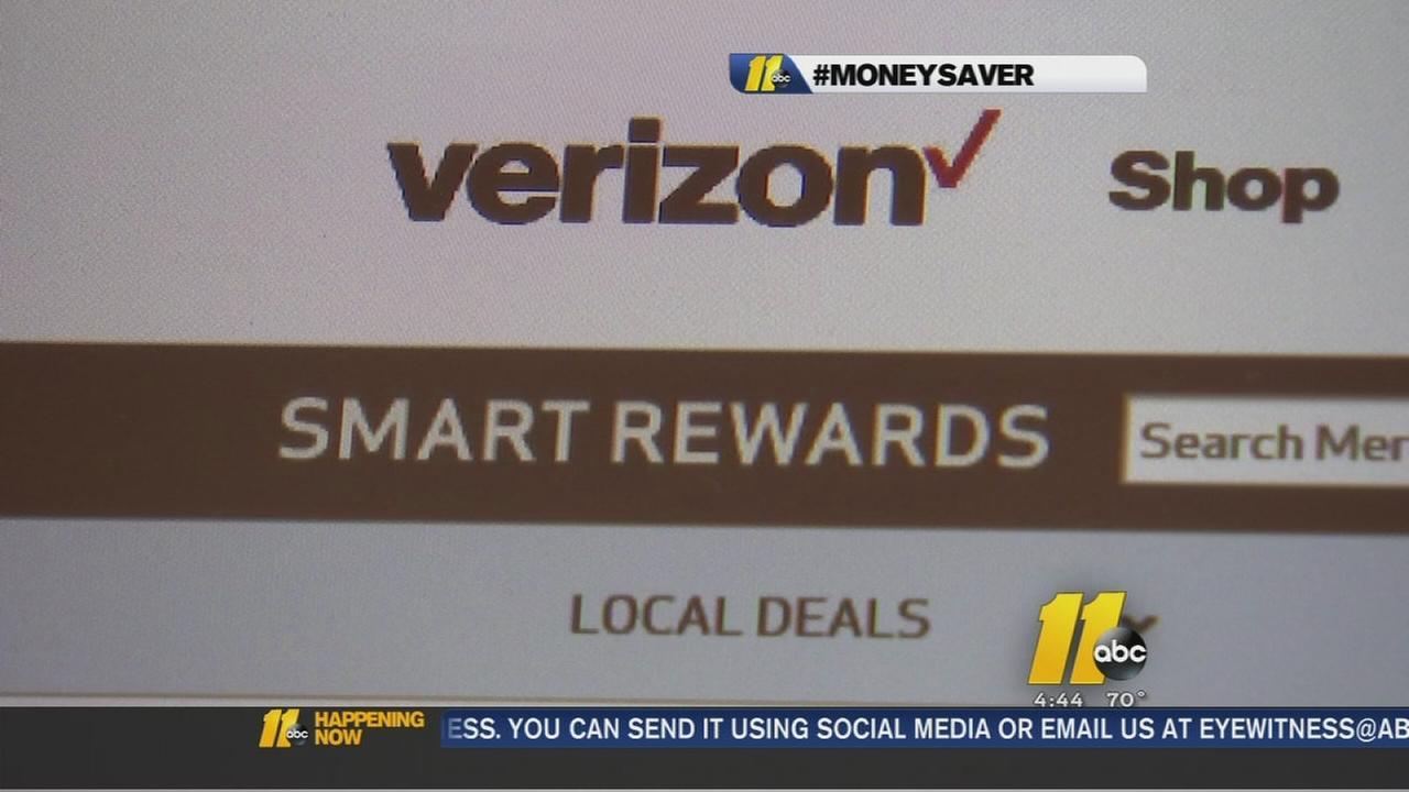 Verizon rewards program