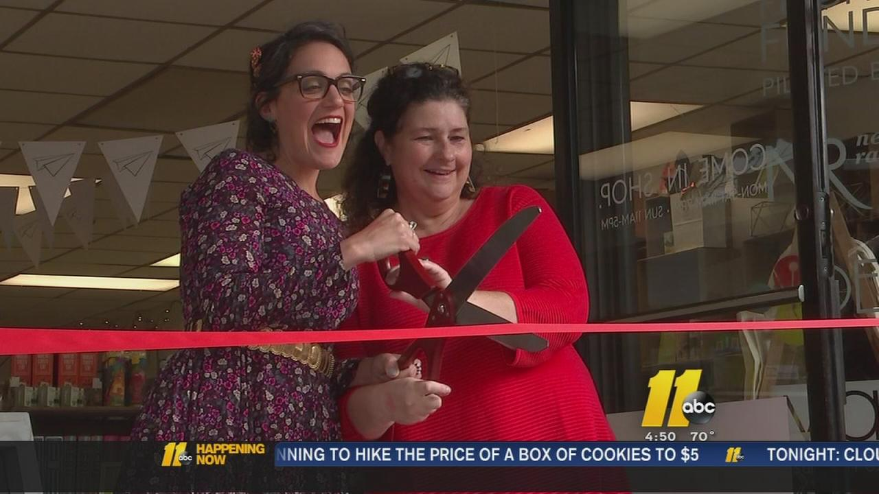 Pop up store in Raleigh opens