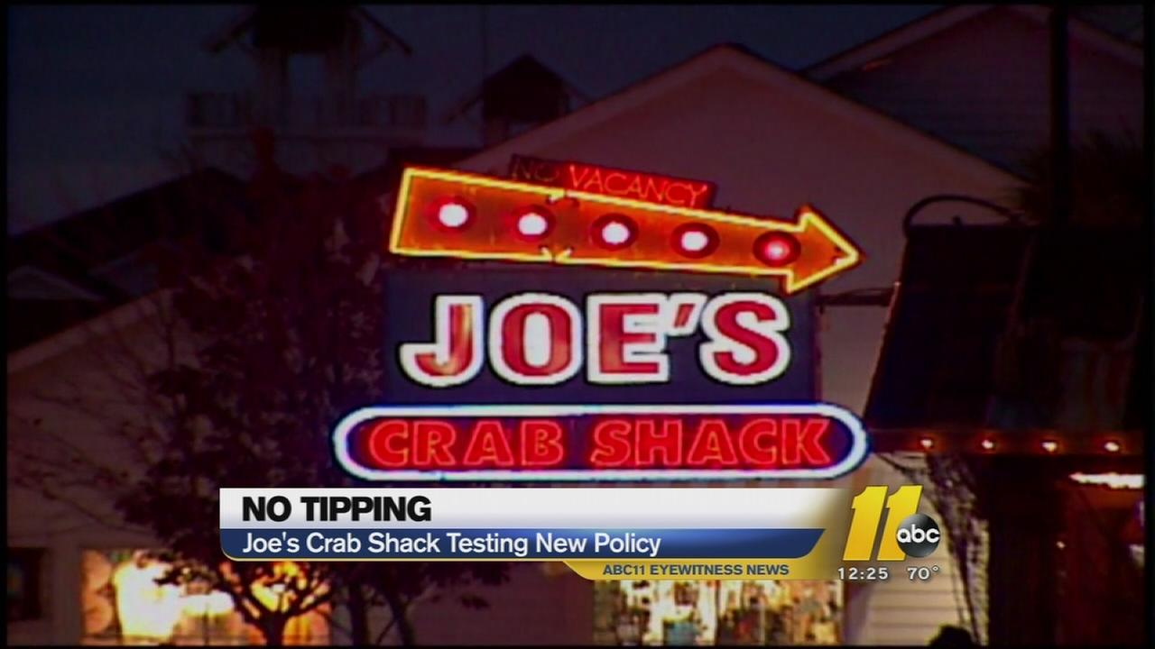 No more tipping at seafood restaurant