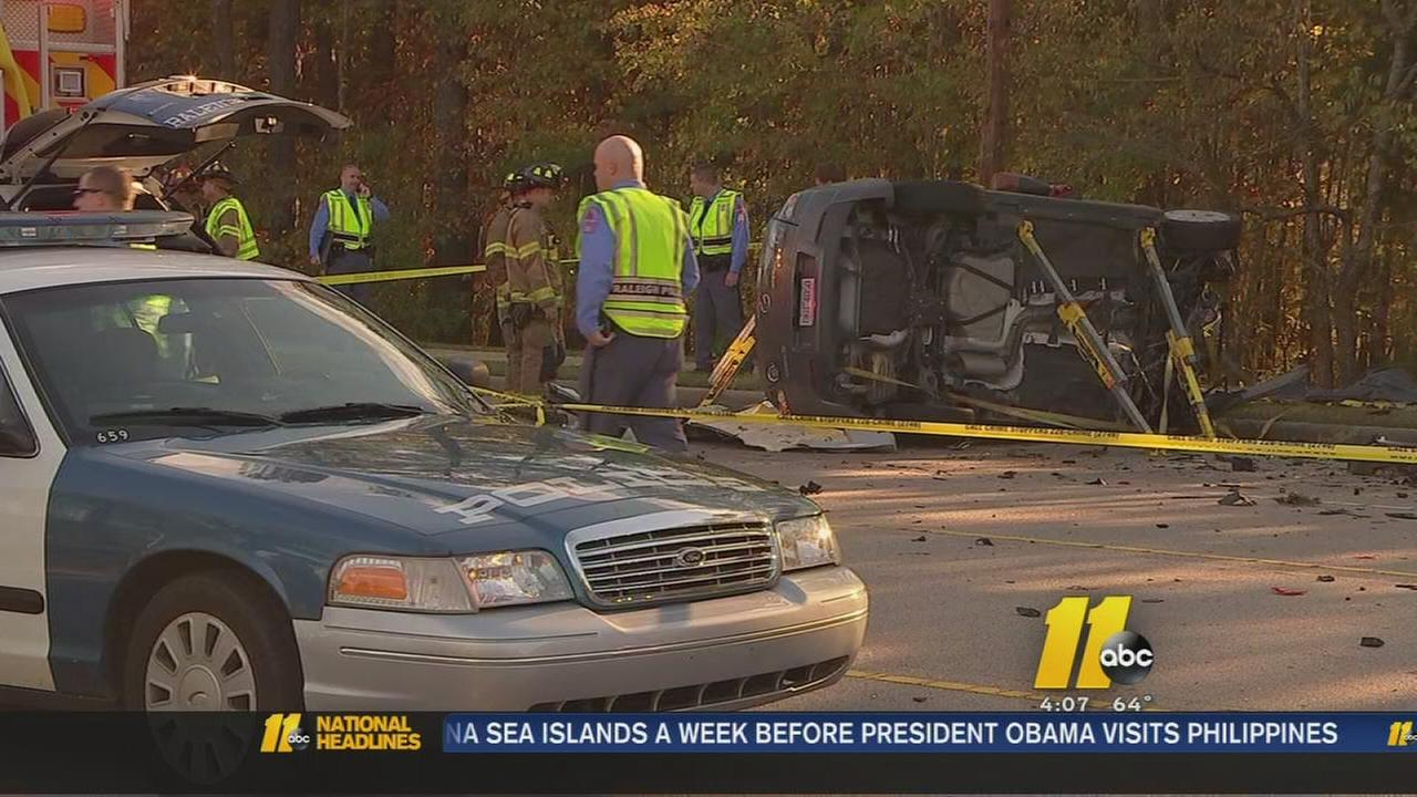 Man killed in Raleigh crash