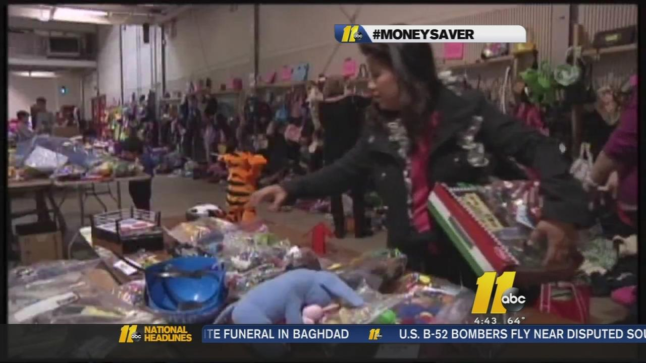 Christmas toy exchange