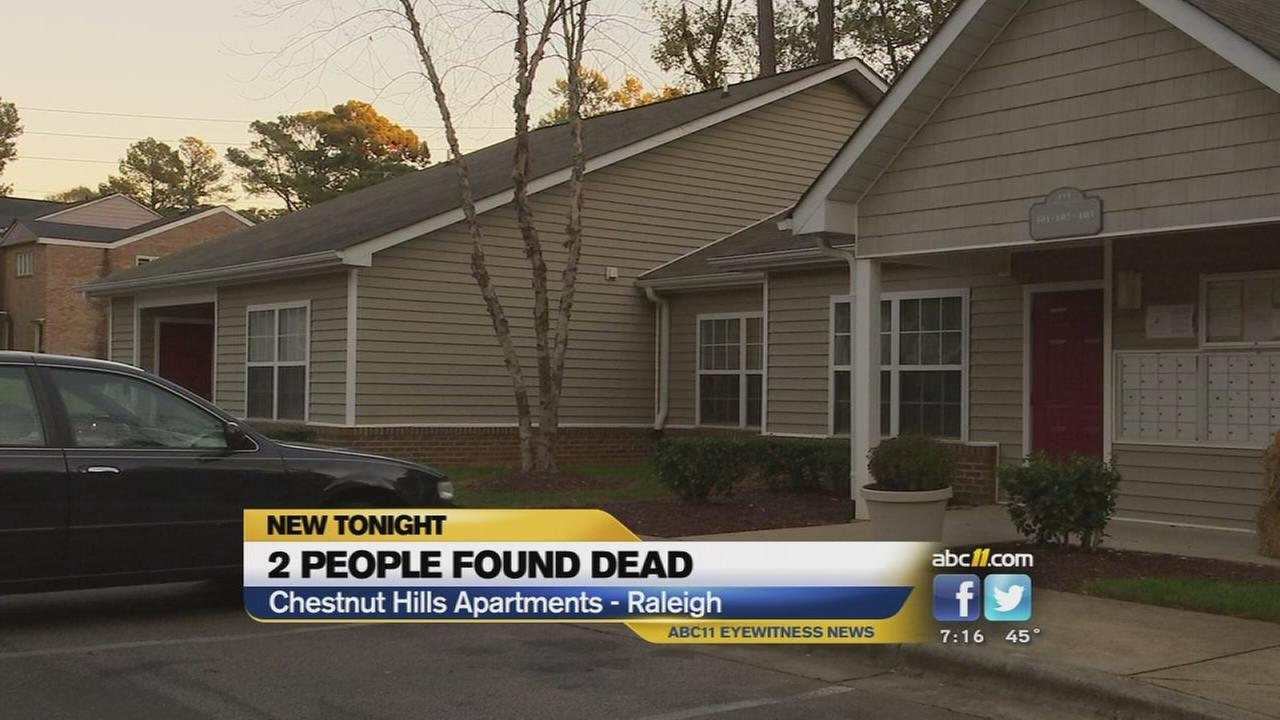 Two found dead in Raleigh