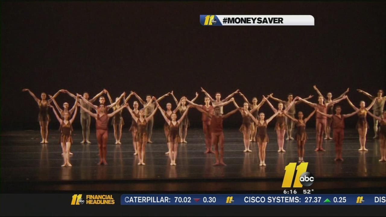 Free Carolina Ballet tickets