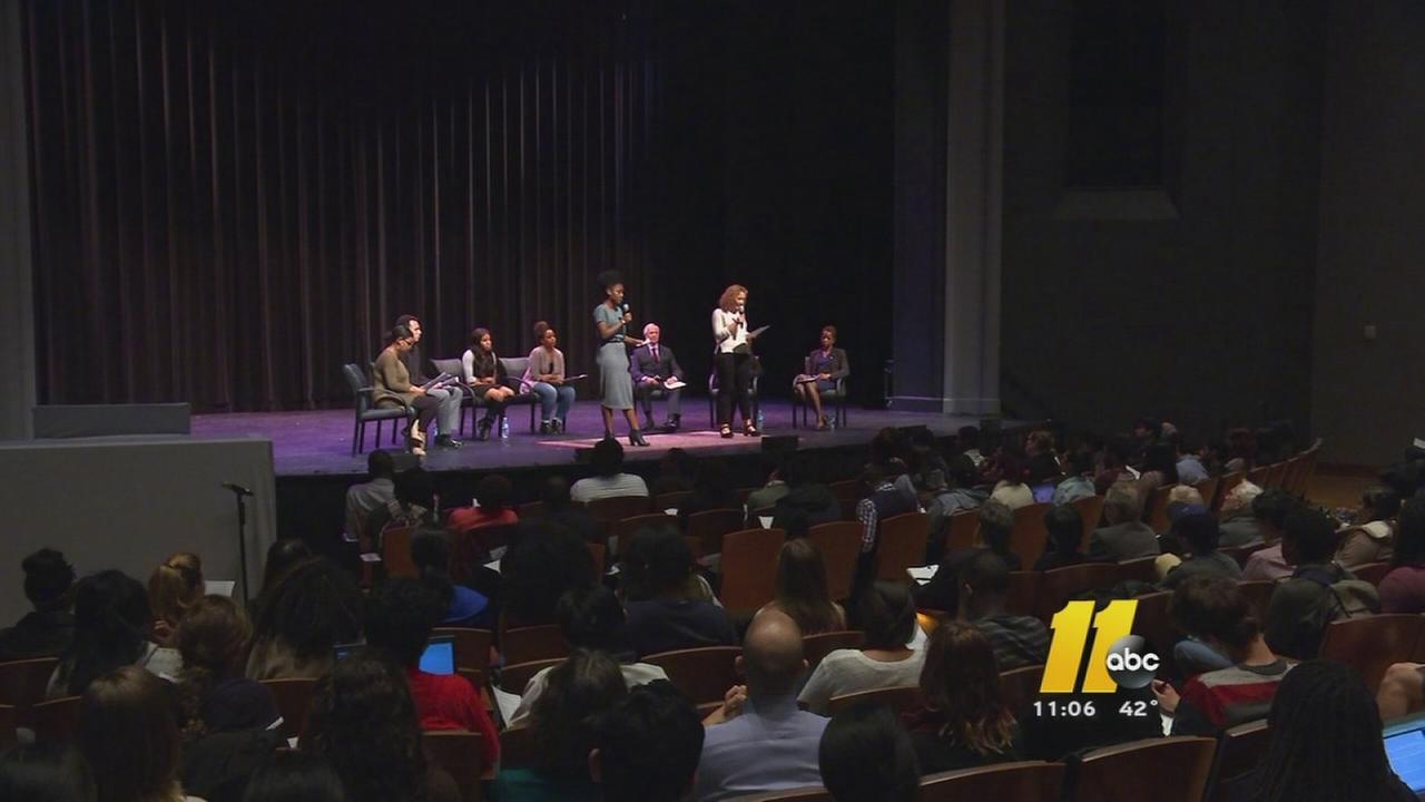 Students make demands at Duke forum on race