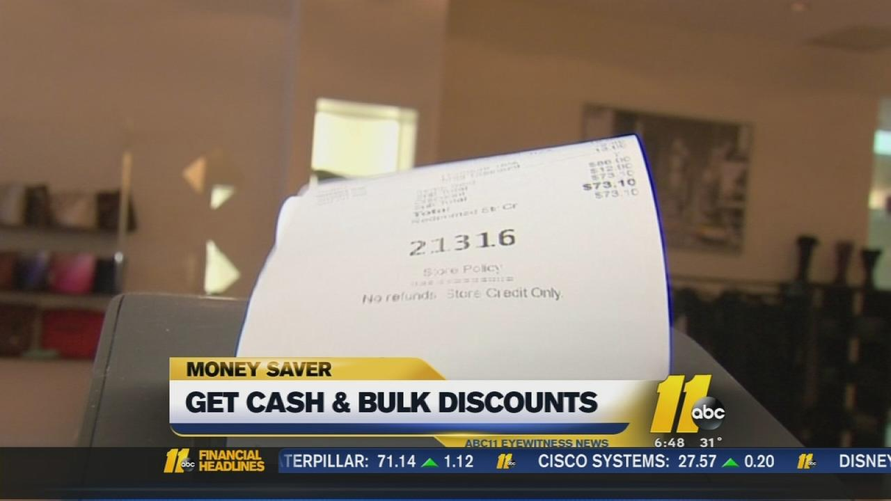 Moneysaver: Shopping discounts