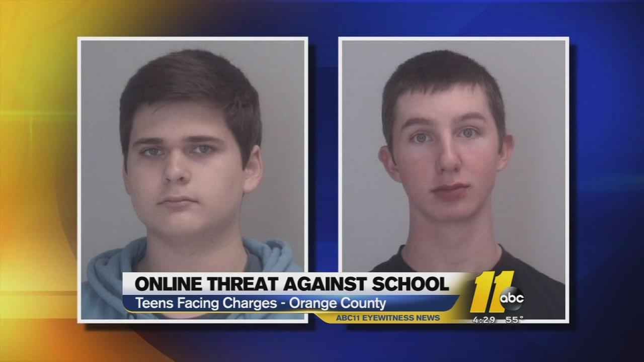 Chapel Hill Students Charged