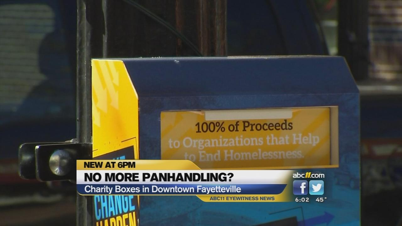Fayetteville offers alternative to panhandling