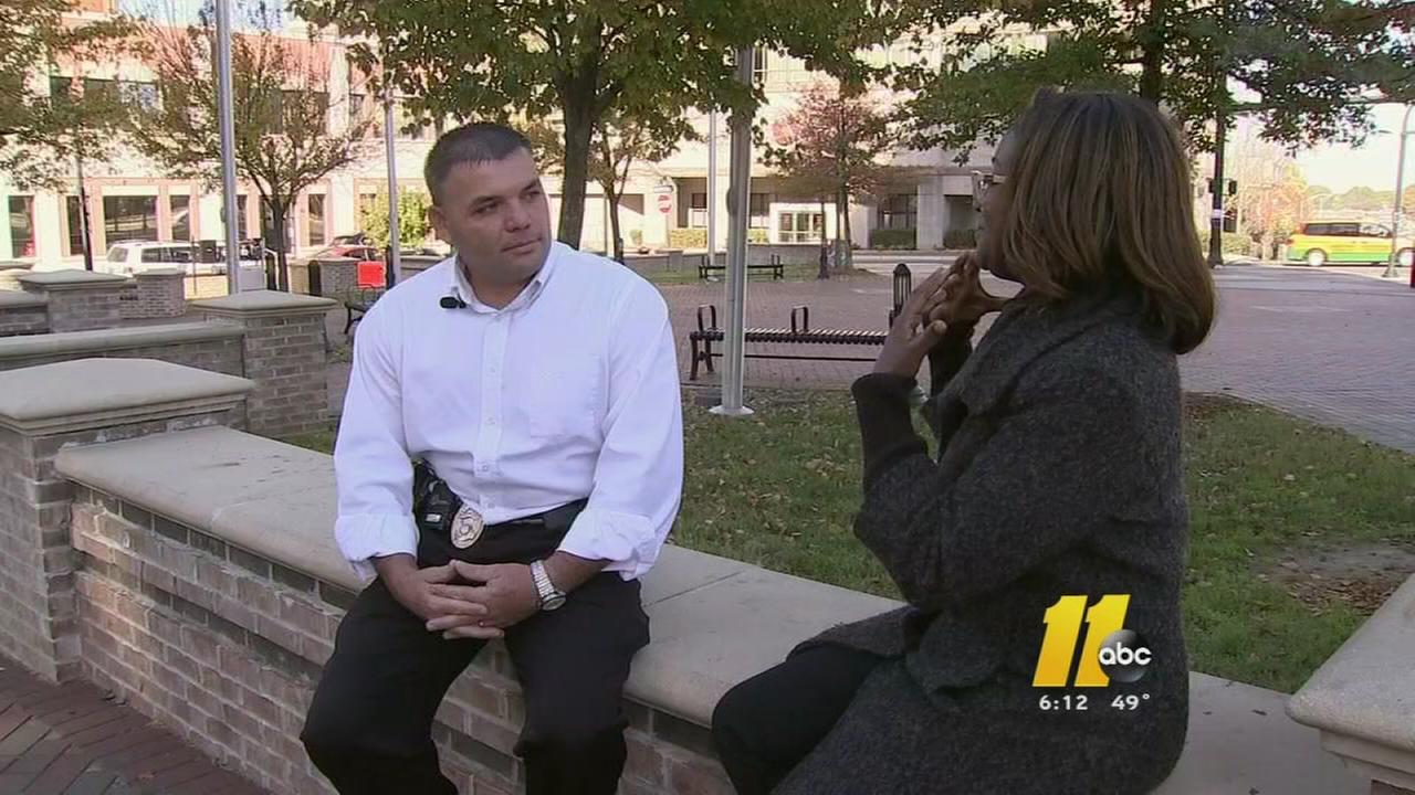 Durham Police investigator helps woman lost in Durham