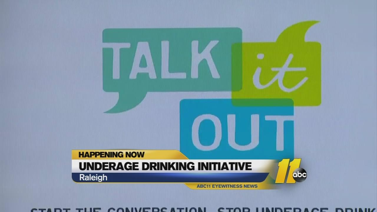 Leaders urge ?Talk It Out? initiative to stop underage drinking