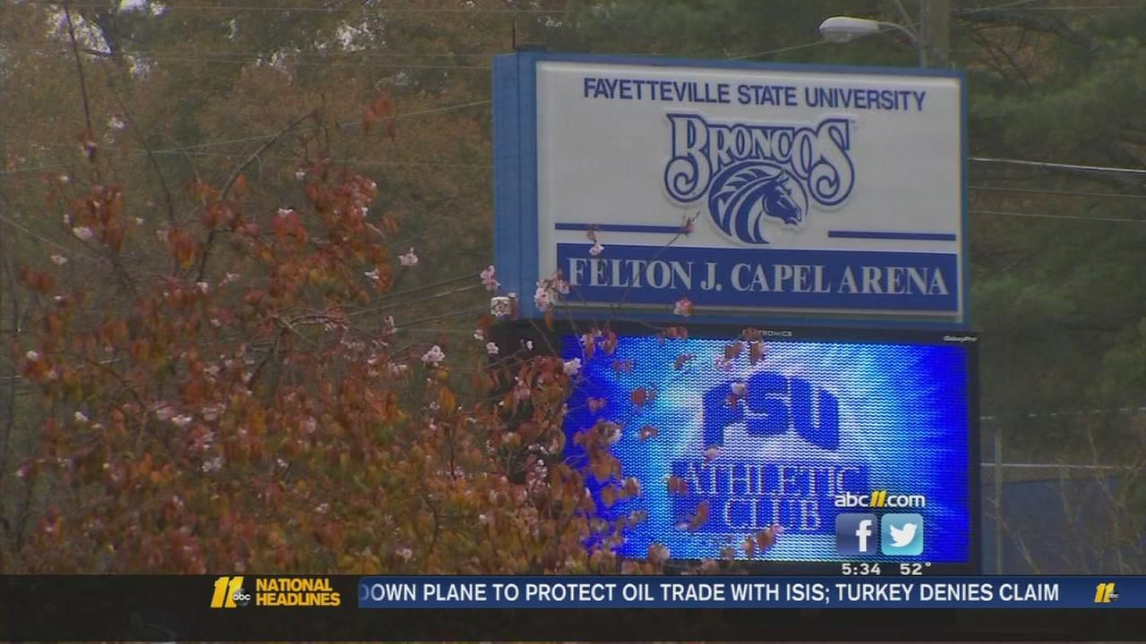 Fayetteville State reports violations