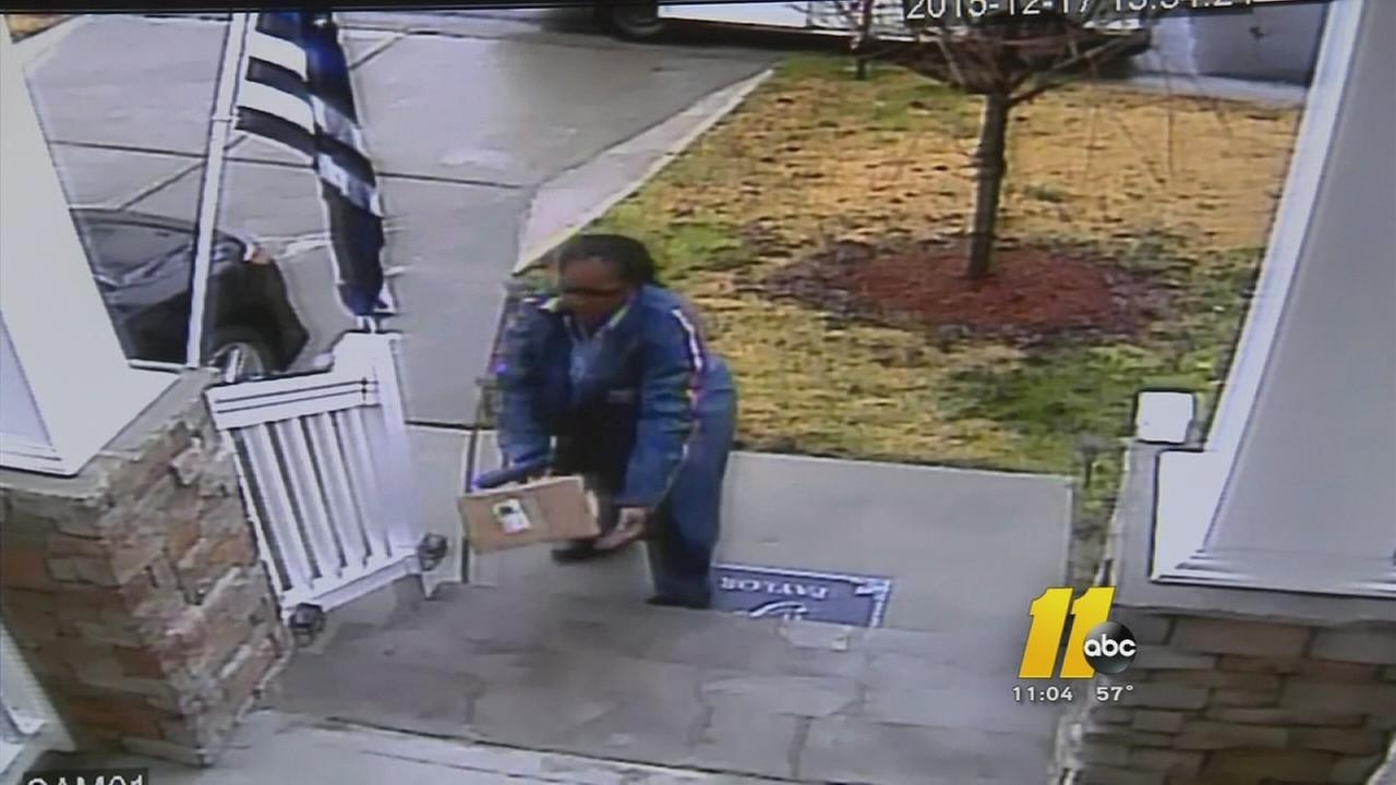 Video shows mail carrier tossing packages