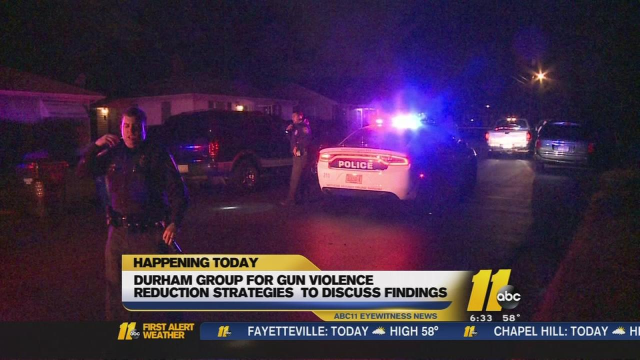 Durham group for gun violence reduction strategies to discuss finds