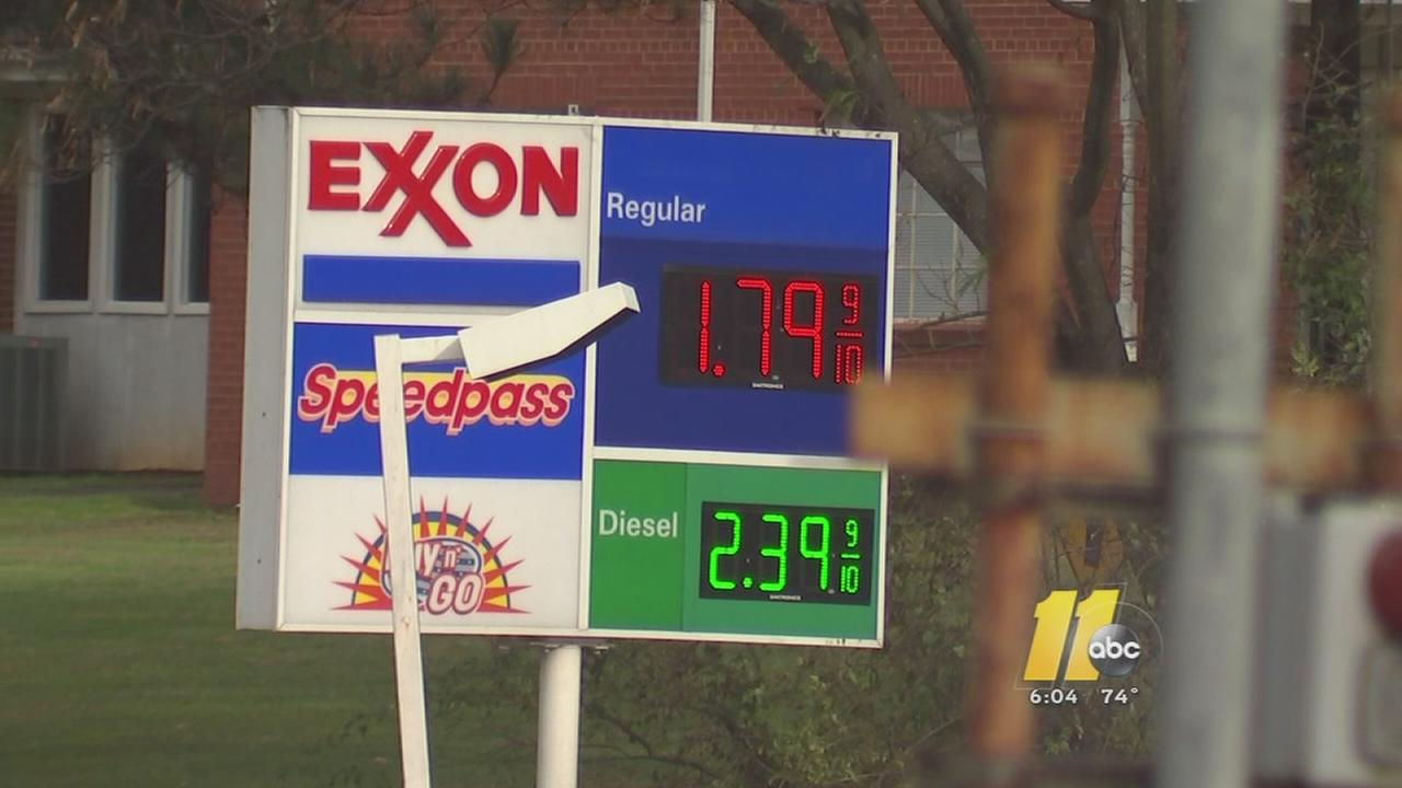 Gas prices are low
