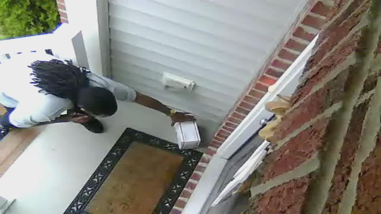 Stolen packages in Durham