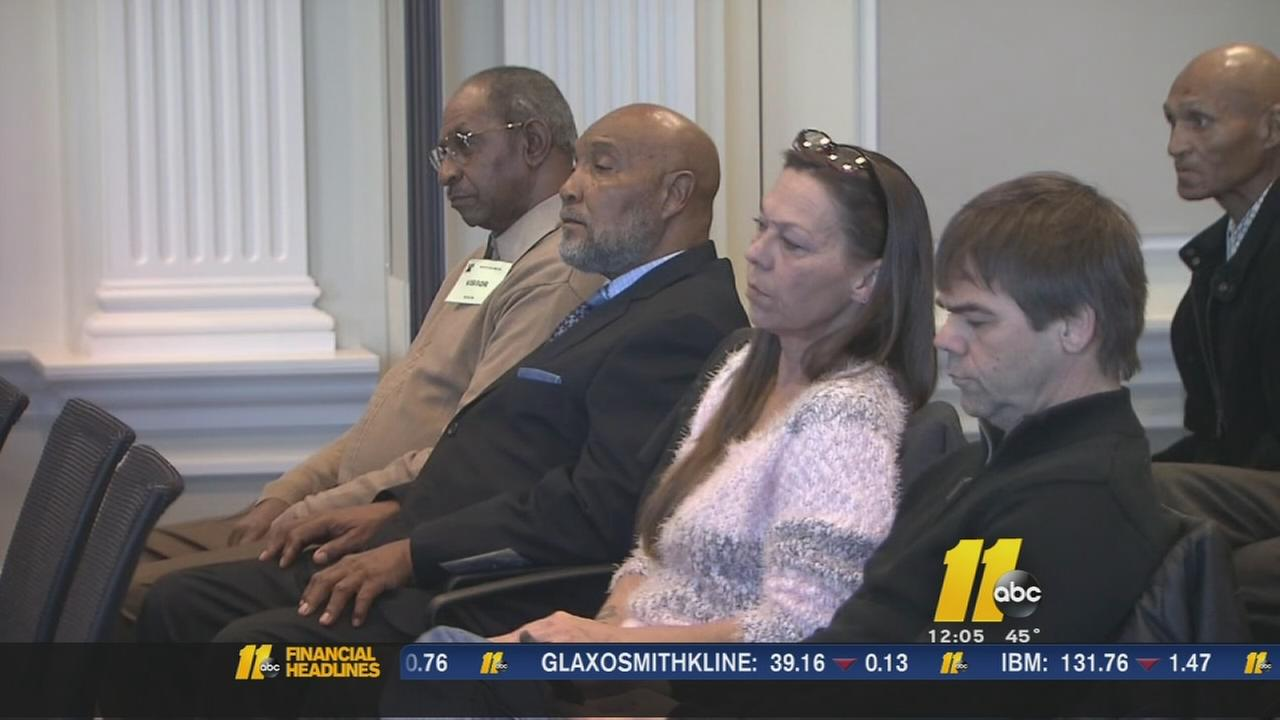 Supporters turn out for innocence attorney