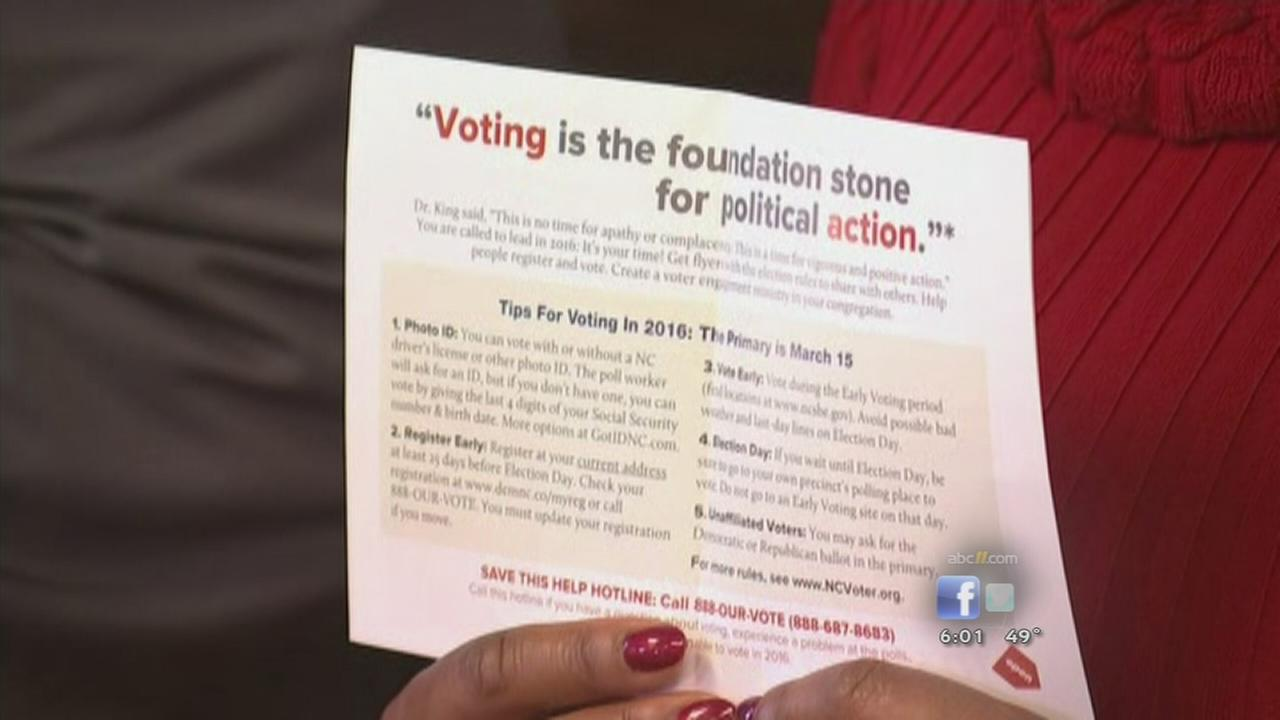 NAACP alleges State Board of Elections misleading voters
