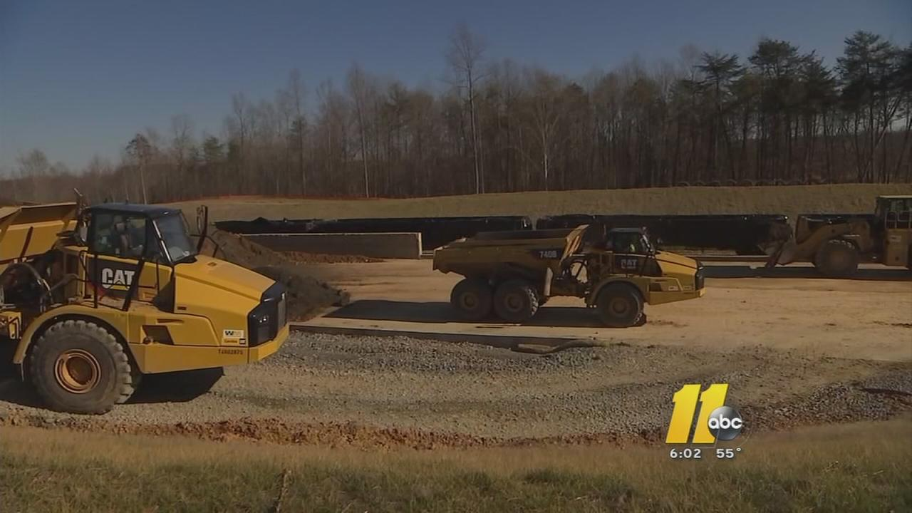 Duke Energy shows coal ash cleanup