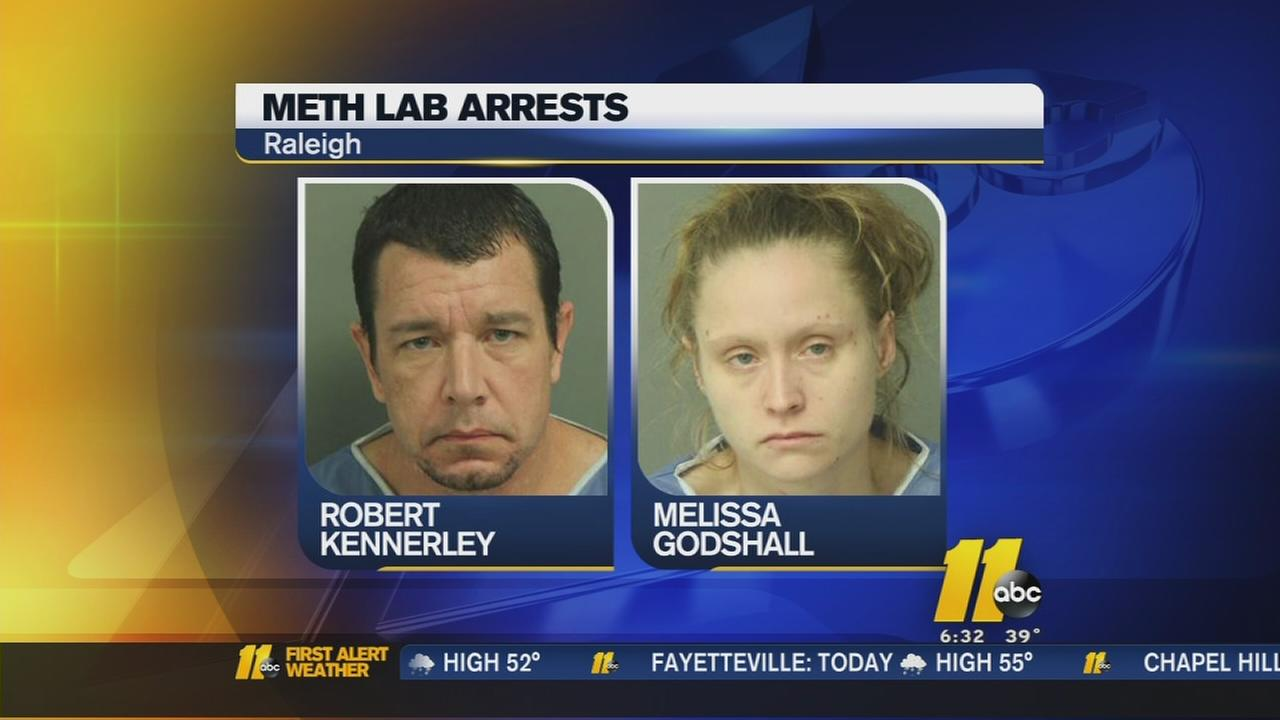 Police find meth lab in Raleigh home, remove two children