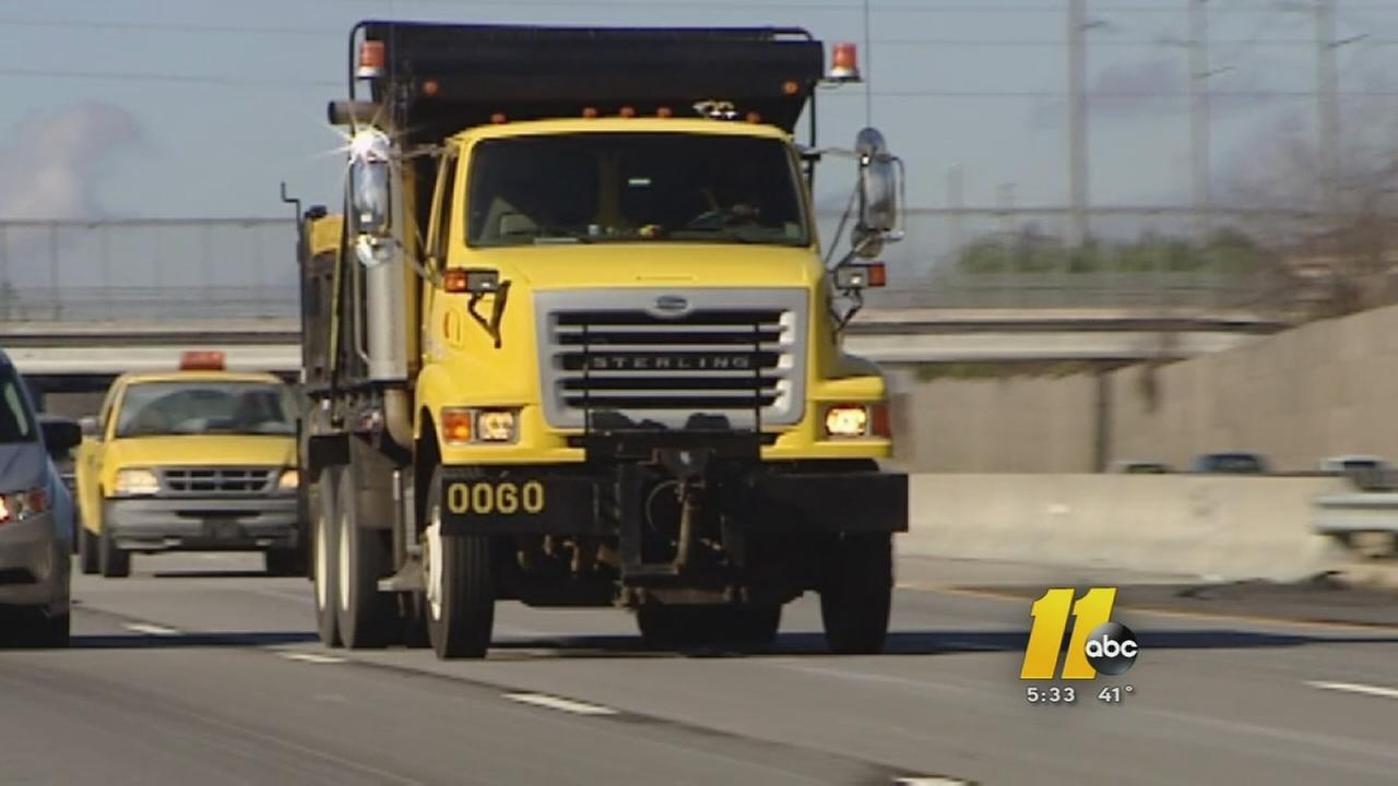NCDOT ready for the storm